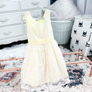 4T Lace Formal Summer Dress